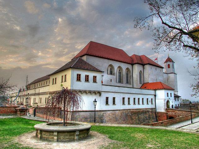 Festung Špilberk in der tschechischen StadtBrünn