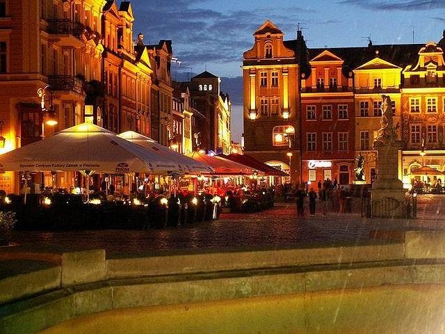 Romantische Altstadt von Posen
