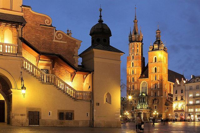 Krakau: die wunderschöne Altstadt von Krakau