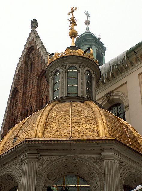 Goldene Sigismundkapelle der Wawel-Kathedrale in Krakau