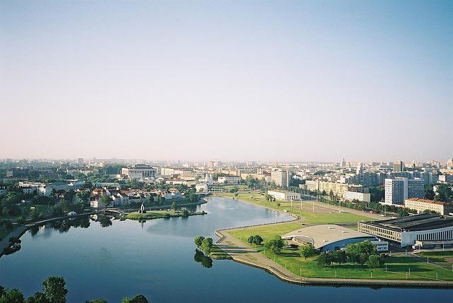 Minsk, die weißrussische Hauptstadt
