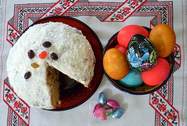 Ostern in Russland: Osterkuchen, Osterbrot, Süßigkeiten und Ostereier