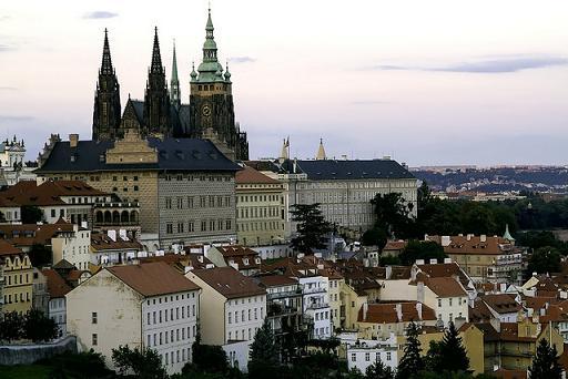 Prager Burg auf dem Hradschin in Prag