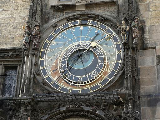 Astronomische Uhr am Altstädter Rathaus in Prag