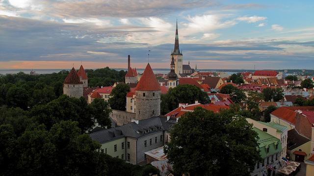 Die estnische Hauptsadt Tallinn